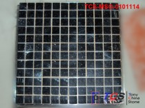 TCS-MSG-0101114 Granite Mosaic 23mm Galaxy Black