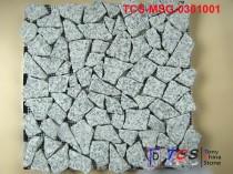 TCS-MSG-0301001 Granite Mosaic Free Style G603 silver grey