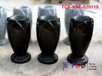 TCS-VSE-0201 Granite Vase (Flower Pot) for Monument